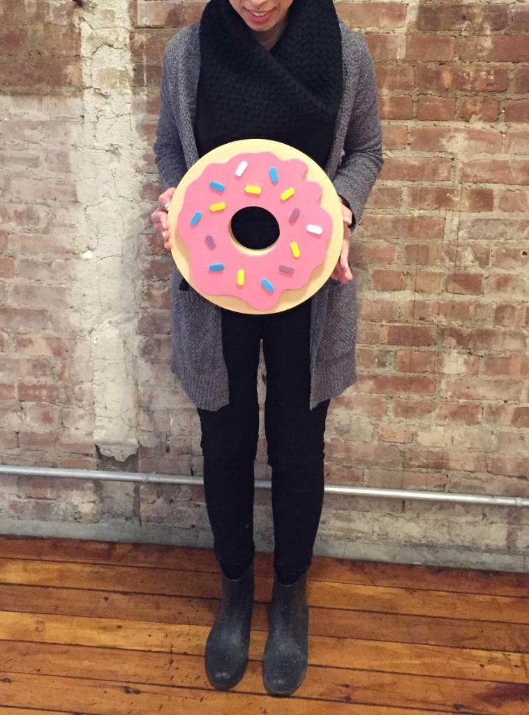 donut-holding